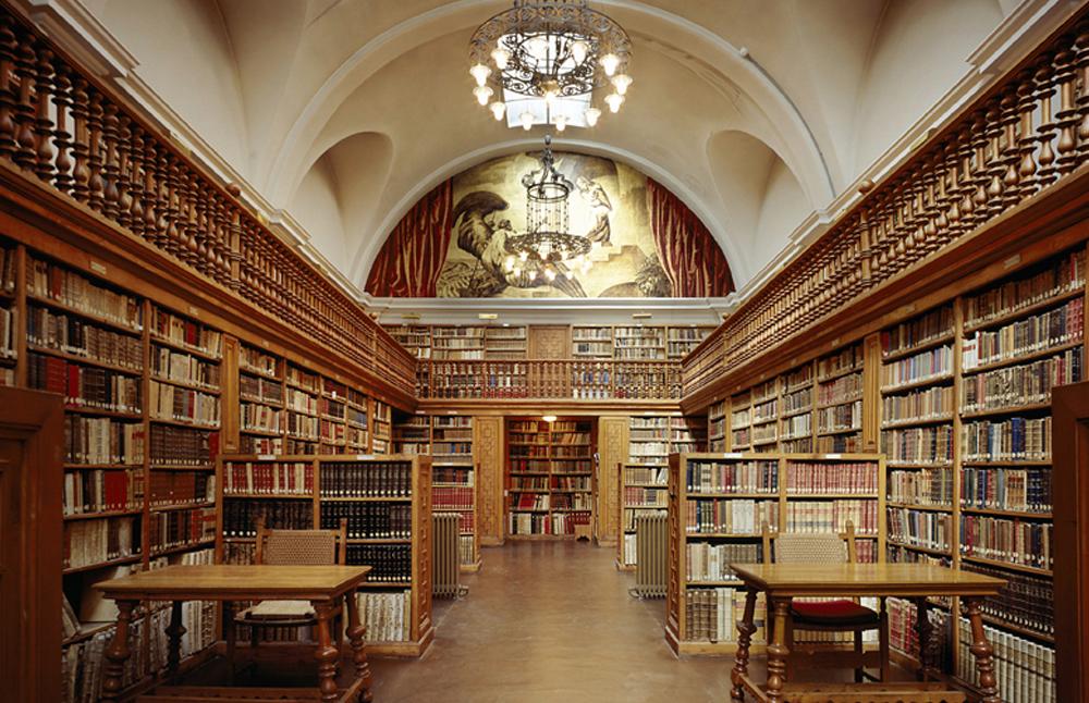 Biblioteca © Abadía de Montserrat